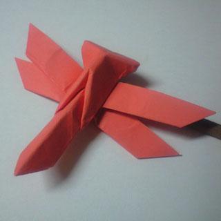 簡単 折り紙 折り紙 トンボ 折り方 : ori.axono.jp