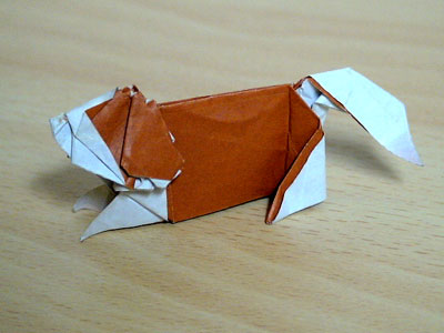 クリスマス 折り紙 折り紙 犬 折り方 : matome.naver.jp